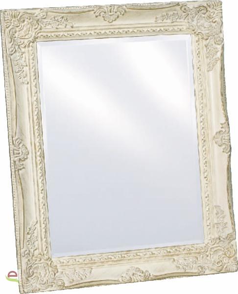 spiegel mit facettenschliff im landhausstil 37x47cm elcodec decorate your life. Black Bedroom Furniture Sets. Home Design Ideas
