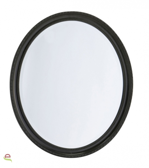Wandspiegel badspiegel oval mit verzierung 37x47 cm elcodec decorate your life - Spiegel oval silber ...